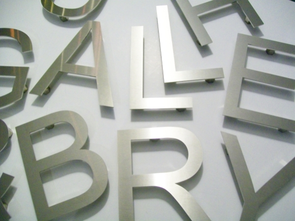 Cast Metal Letters And Cast Metal House Numbers Fixing