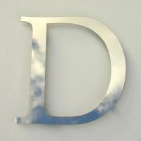 letter-d-polished-steel